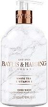 Düfte, Parfümerie und Kosmetik Flüssige Handseife White Tea & Vitamin E - Baylis & Harding White Tea & Vitamin E Hand Wash