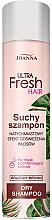 Düfte, Parfümerie und Kosmetik Trockenshampoo für dunkles Haar - Joanna Ultra Fresh Hair Brown Dry Shampoo