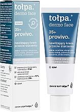 Düfte, Parfümerie und Kosmetik Feuchtigkeitsspendende Anti-Aging Tagescreme 35+ - Tolpa Provivo 35+ Moisturising Anti-Age Cream