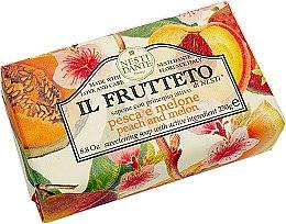 """Düfte, Parfümerie und Kosmetik Handseife """"Pfirsich und Melone"""" - Nesti Dante Il Frutteto Soap"""
