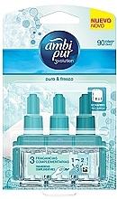 Düfte, Parfümerie und Kosmetik Raumerfrischer-Set Baumwolle - Ambi Pur (Refill 3x7ml)
