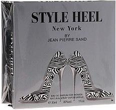 Düfte, Parfümerie und Kosmetik Jean-Pierre Sand Style Heel New York - Eau de Parfum