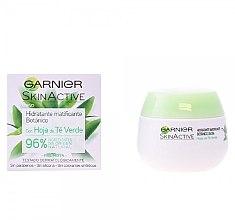 Düfte, Parfümerie und Kosmetik Feuchtigkeitsspendende und mattierende Gesichtscreme - Garnier Skin Active Mattifying Moisturizing Cream