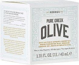 Düfte, Parfümerie und Kosmetik Feuchtigkeitsspendende mattierende Tagescreme - Korres Pure Greek Olive Day Cream