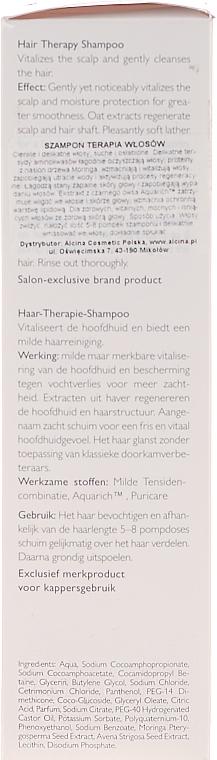 Mildes Shampoo für Haar und Kopfhaut - Alcina Hair Care Haar Therapie Shampoo — Bild N5