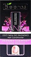 """Düfte, Parfümerie und Kosmetik Nagelbalsam """"Flüssiger Diamant"""" - Bielenda Liquid Diamond Nail Conditioner"""