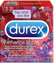 Düfte, Parfümerie und Kosmetik Kondome - Durex Fetherlite Elite