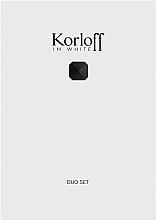 Düfte, Parfümerie und Kosmetik Korloff Paris Korloff In White - Duftset (Eau de Toilette 88ml + Duschgel 150ml)