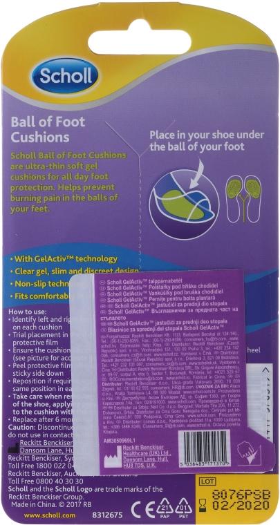Geleinlagen gegen Rutschen und Druckschmerz - Scholl Party Feet Ultra Slim Invisible Gel Cushions — Bild N2