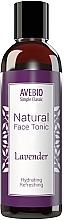 Düfte, Parfümerie und Kosmetik Natürliches, erfrischendes und feuchtigkeitsspendendes Gesichtstonikum mit Lavendel - Avebio Natural Face Tonic Lavander