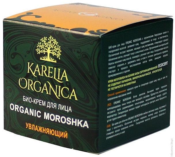 Feuchtigkeitsspendende Bio Gesichtscreme - Fratti HB Karelia Organica Organic Moroshka