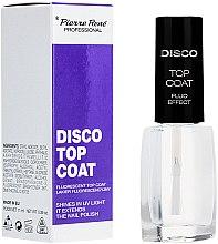 Düfte, Parfümerie und Kosmetik Fluoreszierender Nagelüberlack - Pierre Rene Disco Top Coat Fluo Effect
