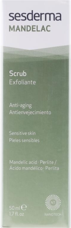 Anti-Aging Peeling für Körper und Gesicht mit Mandelsäure - SesDerma Laboratories Mandelac Scrub Face And Body — Bild N1
