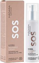 Düfte, Parfümerie und Kosmetik Regenerierende und feuchtigkeitsspendende Gesichtscreme - Madara Cosmetics SOS Hydra Recharge Cream