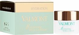 Düfte, Parfümerie und Kosmetik Feuchtigkeitsspendende Gesichtscreme - Valmont Moisturizing With A Cream