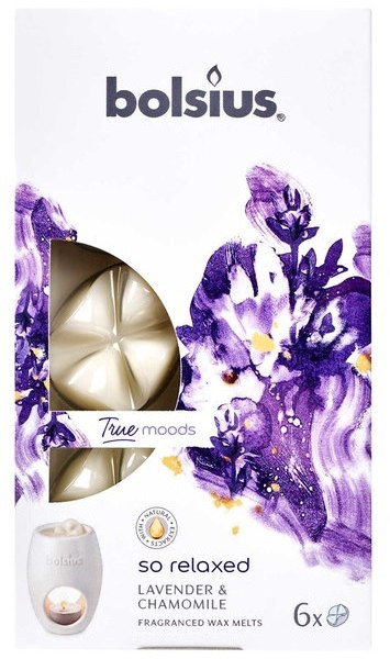 Tart-Duftwachs Lavender & Chamomile - Bolsius True Moods So Relaxed Lavender & Chamomile Smart Wax System