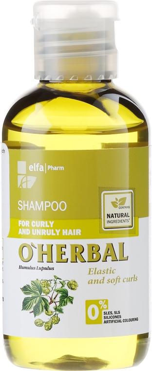 Shampoo für lockiges und widerspenstiges Haar mit Hopfenextrakt - O'Herbal — Bild N1