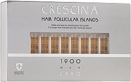 Düfte, Parfümerie und Kosmetik Haarwuchs stimulierende Ampullen für Männer 1900 - Crescina Hair Follicular Islands Re-Growth 1900