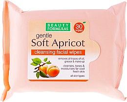 Düfte, Parfümerie und Kosmetik Reinigungstücher für Gesicht - Beauty Formulas Gentle Soft Apricot Cleansing Facial Wipes