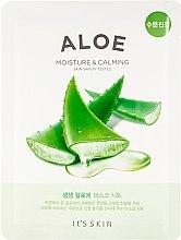 Düfte, Parfümerie und Kosmetik Feuchtigkeitsspendende und beruhigende Tuchmaske mit Aloe - It's Skin The Fresh Mask Sheet Aloe