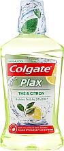 Düfte, Parfümerie und Kosmetik Mundwasser Tee und Zitrone - Colgate Plax Mouthwash Lemon And Tea