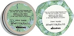 Düfte, Parfümerie und Kosmetik Finishing Gum für elastik Texturen - Davines More Inside Medium Hold Finishing Gum