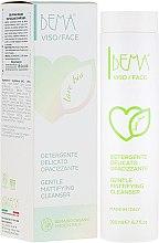 Düfte, Parfümerie und Kosmetik Sanfte und mattierende Gesichtsreinigungsemulsion - Bema Cosmetici Bema Love Bio Gentle Mattifying Cleanser
