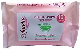 Düfte, Parfümerie und Kosmetik Feuchttücher für die Intimhygiene - Saforelle Biodegradable Intimate Wipes