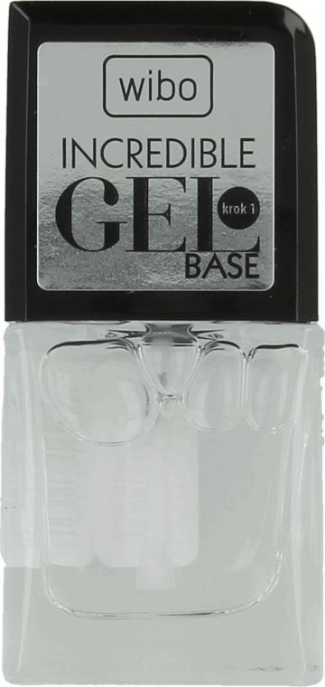 Gelnägel Unterlack - Wibo Incredible Gel Base