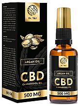 Düfte, Parfümerie und Kosmetik Natürliches Arganöl CBD 500 mg - Dr. T&J Bio Oil