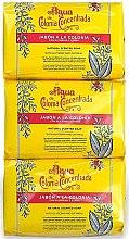 Düfte, Parfümerie und Kosmetik Alvarez Gomez Agua De Colonia Concentrada - Seifenset (Seife 3x125g)