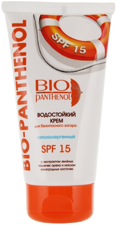 Wasserfeste Sonnencreme SPF 15 - Bio Panthenol — Bild N1