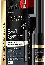 Düfte, Parfümerie und Kosmetik 8in1 Nagelbalsam - Eveline Cosmetics Nail Therapy Professional 8 in 1 Multi-Care Base