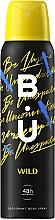 Düfte, Parfümerie und Kosmetik B.U. Wild - Deospray