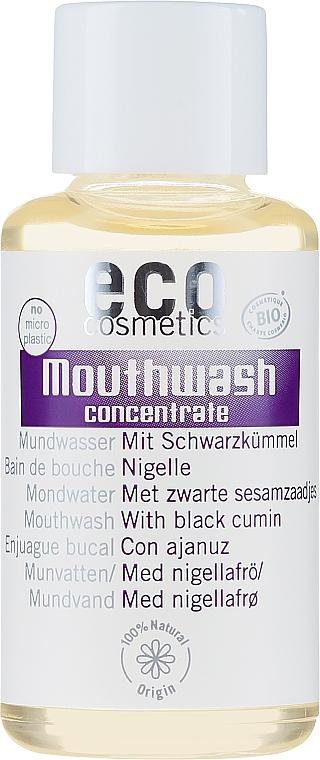Mundwasser mit Schwarzkümmel - Eco Cosmetics Mouthwash