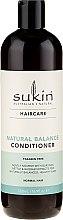 Düfte, Parfümerie und Kosmetik Haarspülung mit Kletten-, Brennessel- und Baobab-Extrakt - Sukin Natural Balance Conditioner