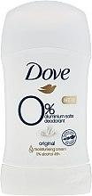 Düfte, Parfümerie und Kosmetik Antiperspirant Deo-Stick Hi-impact, 48H - Dove Original 0% Aluminium Salts Deodorant