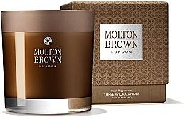 Düfte, Parfümerie und Kosmetik Molton Brown Black Peppercorn Three Wick Candle - Duftkerze im Glas Schwarzes Pfefferkorn