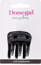 Düfte, Parfümerie und Kosmetik Haarspange FA-9796, klein, schwarz - Donegal