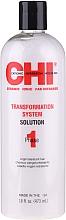 Glättende Behandlung für naturbelassenes Haar Phase 1 Formel A - CHI Transformation Solution Formula A — Bild N1