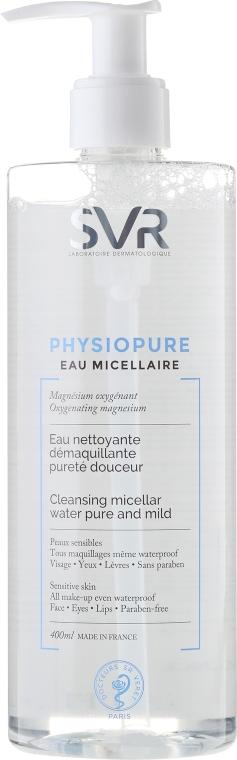 Reinigendes Mizellenwasser für wasserfestes Make-up - SVR Physiopure Eau Micellaire