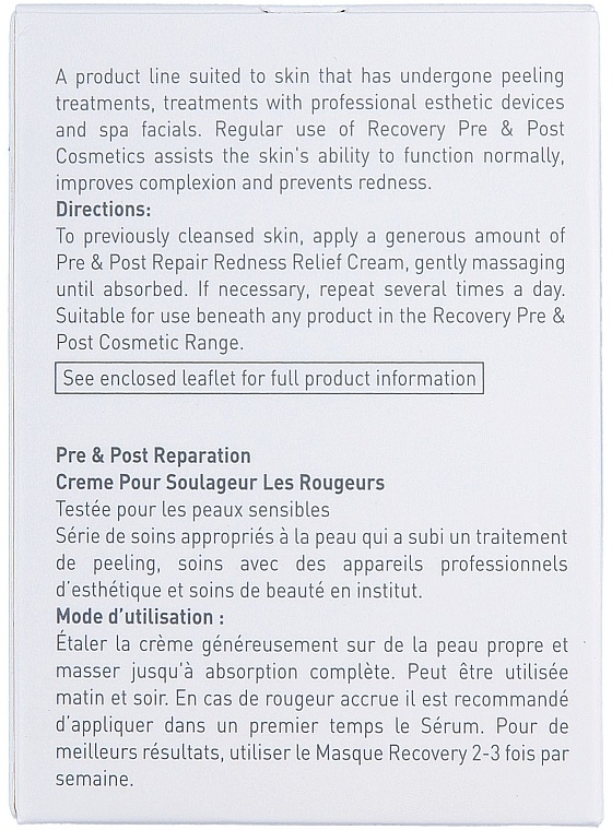 Beruhigende und pflegende Gesichtscreme gegen Rötungen und Reizungen - Gigi Recovery Redness Relief Creme — Bild N4