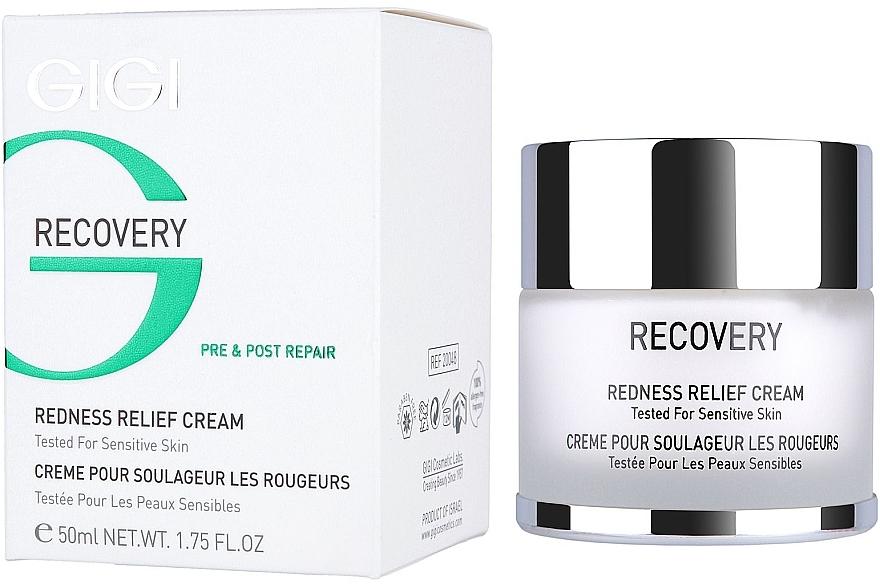 Beruhigende und pflegende Gesichtscreme gegen Rötungen und Reizungen - Gigi Recovery Redness Relief Creme — Bild N1