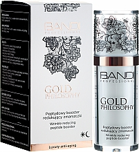 Düfte, Parfümerie und Kosmetik Anti-Falten Gesichtsbooster mit Peptiden - Bandi Professional Gold Philosophy Wrinkle Reducing Peptide Booster