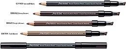 Augenbrauenstift - Shiseido Natural Eyebrow Pencil — Bild N2
