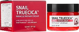 Düfte, Parfümerie und Kosmetik Revitalisierende Gesichtscreme mit Schneckenmucinextrakt und Ceramiden - Some By Mi Snail Truecica Miracle Repair Cream