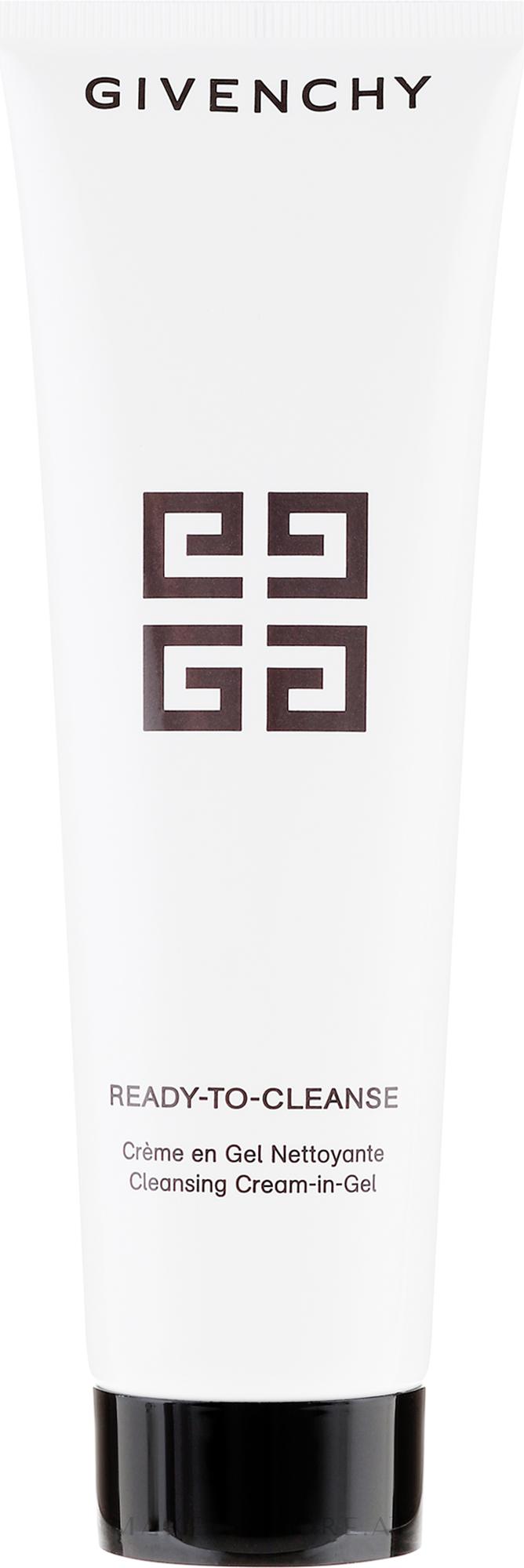 Gesichtsreinigungsgel-Creme - Givenchy Ready-To-Cleanse Gel en Creme Nettoyante — Bild 150 ml