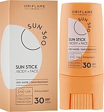 Düfte, Parfümerie und Kosmetik Sonnenschutzstick für Gesicht und Körper SPF 30 - Oriflame Sun 360 Sun Stick SPF 30