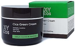 Düfte, Parfümerie und Kosmetik Gesichtscreme mit Centella Asiatica und Aloe Vera - XYcos Cica Green Cream