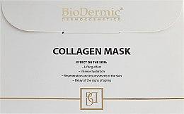 Düfte, Parfümerie und Kosmetik Gesichtsmaske mit Kollagenserum - BioDermic Collagen Mask